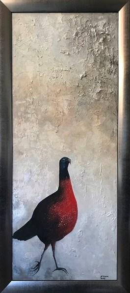 Obraz do salonu artysty Klaudia Choma pod tytułem KUROPATWA