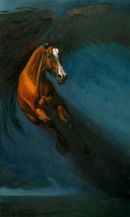 Obraz do salonu artysty Daria Solar pod tytułem PANI WIOSNA