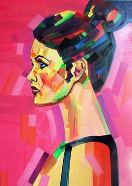 Obraz do salonu artysty Piotr Kachny pod tytułem HEADLINES