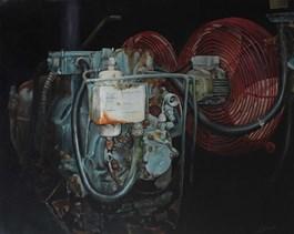Obraz do salonu artysty Arkadiusz Siarkowski pod tytułem PRZEMIJANIE II