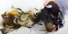 Obraz do salonu artysty Beata Musiał-Tomaszewska pod tytułem FATAMORGANA