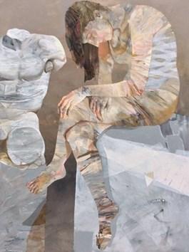 Obraz do salonu artysty Adam Wątor pod tytułem DZIEWCZYNA I TORS 2