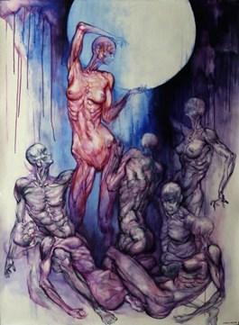 Obraz do salonu artysty Wojciech Pelc pod tytułem WENA