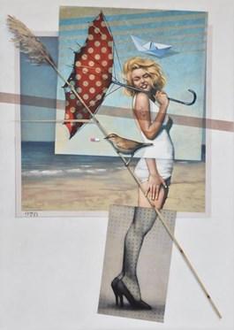 Obraz do salonu artysty Kamil Stańczak pod tytułem TA WODA NURTUJE MNIE