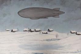 Obraz do salonu artysty Michał Mroczka pod tytułem PATROL
