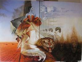 Obraz do salonu artysty Andrzej Wroński pod tytułem WŁADZA