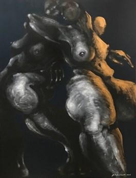 Obraz do salonu artysty Andrzej Domżalski pod tytułem PARA