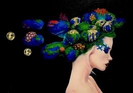 Obraz do salonu artysty Dominik Balcerzak pod tytułem POTĘGA UMYSŁU