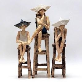 Rzeźba do salonu artysty Arek Szwed pod tytułem TRYPTYK PODLASKI