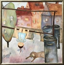 Obraz do salonu artysty Anna Przepióra pod tytułem TRZEPAK