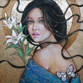 Obraz do salonu artysty Joanna Misztal pod tytułem NIEWINNA