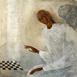 Obraz do salonu artysty Sylwia Perczak pod tytułem MEETING
