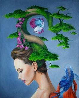 Obraz do salonu artysty Dominik Balcerzak pod tytułem PASJA, IDEA