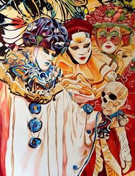 Obraz do salonu artysty Joanna Szumska pod tytułem DYLEMATY
