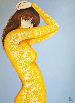 Obraz do salonu artysty Renata Magda pod tytułem KUSZENIE