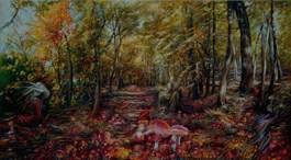 Obraz do salonu artysty Andrzej Masianis pod tytułem BARZDUKAI - PRUSKI SKRZAT
