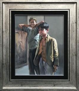 Obraz do salonu artysty Jan Dubrowin pod tytułem ODWIEDZINY