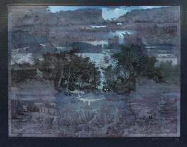 Grafika do salonu artysty Krzysztof Wieczorek pod tytułem ZAPOMNIANY SZKICOWNIK, OSTATNIA KARTKA