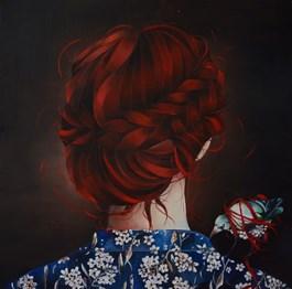 Obraz do salonu artysty Milena Brudkowska pod tytułem BEZ TYTUŁU