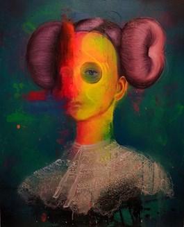 Obraz do salonu artysty Campio pod tytułem ŚWIEŻYNKA