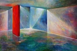 Obraz do salonu artysty Katarzyna Kałdowska pod tytułem LA CASA