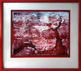Obraz do salonu artysty Krzysztof Wieczorek pod tytułem NOCTURN… NOKTURN LUB PODRÓZOWANIE NOCĄ