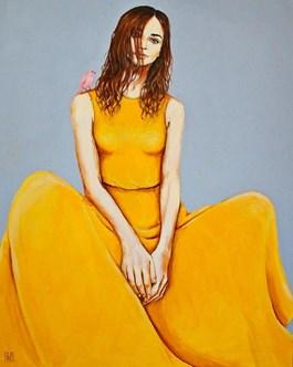 Obraz do salonu artysty Renata Magda pod tytułem ONE MOMENT