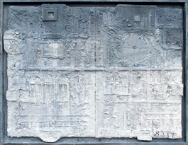 Obraz do salonu artysty Stanisław Tomalak pod tytułem FRAGMENT 561 Z CYKLU ARCHEOLOGIA