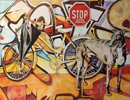 Obraz do salonu artysty Joanna Szumska pod tytułem RYTM MIASTA