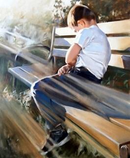 Obraz do salonu artysty Jan Dubrowin pod tytułem PIERWSZY DZIEŃ LATA