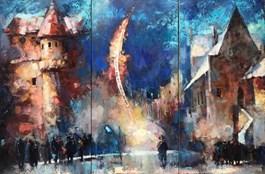 Obraz do salonu artysty Alex Sporski pod tytułem DROGA DO NIEBA