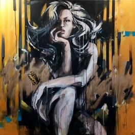 Obraz do salonu artysty Kamila Jarecka pod tytułem PSZCZÓŁKA