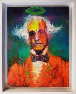 Obraz do salonu artysty Campio pod tytułem BURŻUJ
