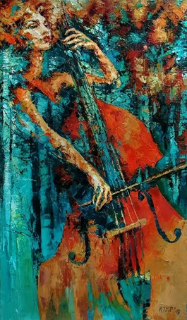 Obraz do salonu artysty Krystyna Róż-Pasek pod tytułem PERSONA