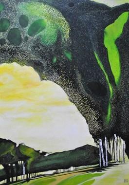 Obraz do salonu artysty Dariusz Franciszek Różyc pod tytułem AURORA