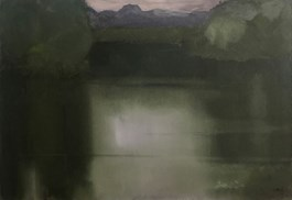 Obraz do salonu artysty Stanisław Baj pod tytułem Wieczór