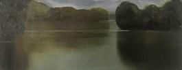 Obraz do salonu artysty Stanisław Baj pod tytułem Lato, rzeka Bug