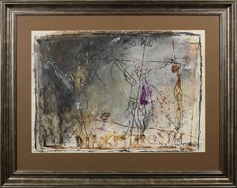 Obraz do salonu artysty Henryk Cześnik pod tytułem Golgotha