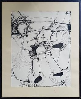 Obraz do salonu artysty Tadeusz Brzozowski pod tytułem Bez tytułu
