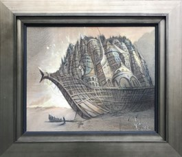 Obraz do salonu artysty Tomasz Sętowski pod tytułem Arka