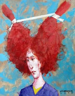 Obraz do salonu artysty Waldemar Marszałek pod tytułem Matylda