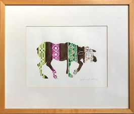 Obraz do salonu artysty Ryszard Grzyb pod tytułem Łoś