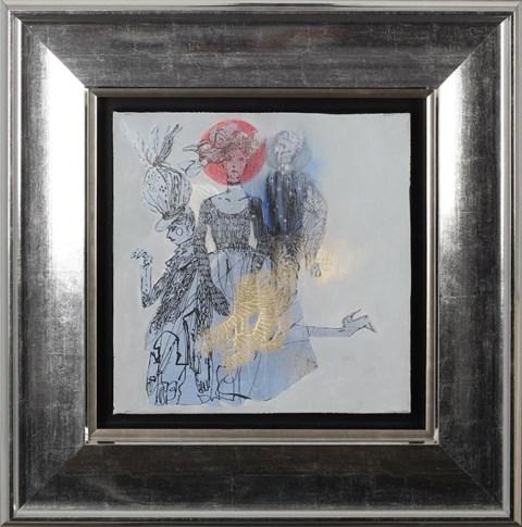 Obraz do salonu artysty Anna Halarewicz pod tytułem Z cyklu Vivienne Westwood