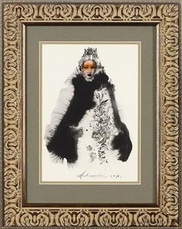 Obraz do salonu artysty Anna Halarewicz pod tytułem Portret 9