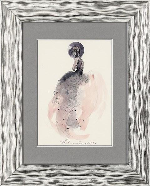 Obraz do salonu artysty Anna Halarewicz pod tytułem Portret kobiety