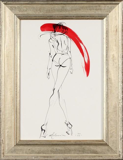 Obraz do salonu artysty Anna Halarewicz pod tytułem Wysokie obcasy