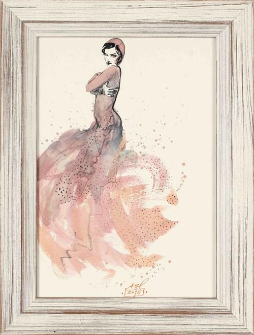 Obraz do salonu artysty Anna Halarewicz pod tytułem Różowa piękność