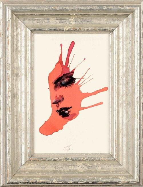 Obraz do salonu artysty Anna Halarewicz pod tytułem Wizerunek