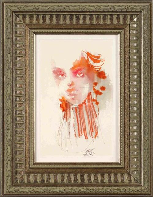 Obraz do salonu artysty Anna Halarewicz pod tytułem Portret dziewczyny