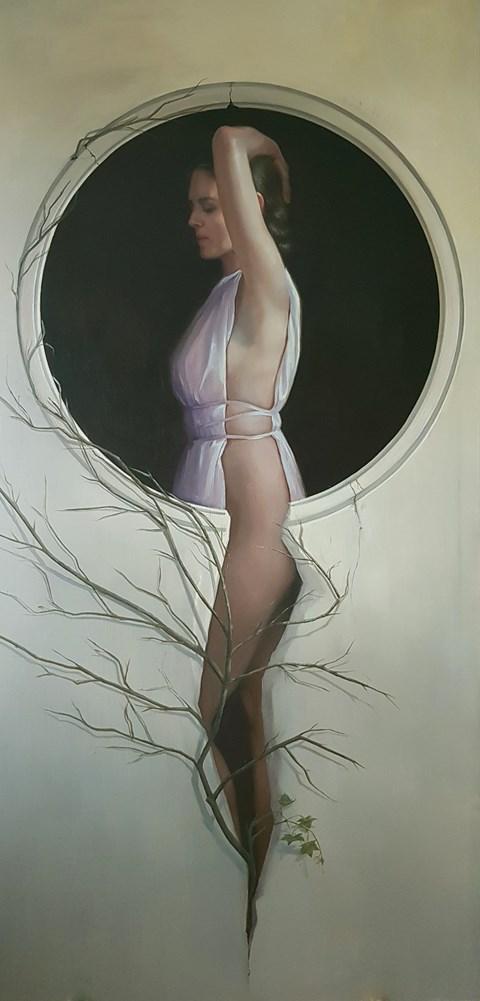Obraz do salonu artysty Marzena Machaj pod tytułem Początek